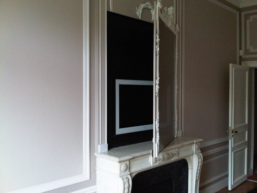 Les installations home cin ma audio et vid o blaack for Un miroir sans tain