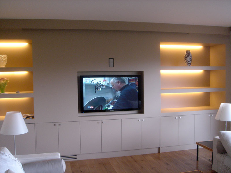 Les installations home cin ma audio et vid o blaack - Meuble pour ampli home cinema ...